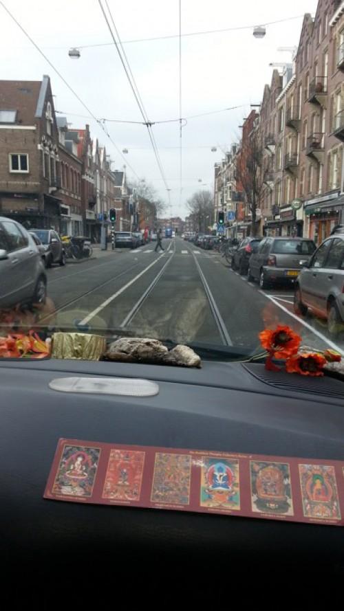 Amsterdam op de trambaan