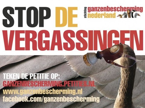 Stop de vergassingen!!!